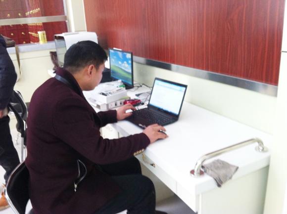 我公司技术人员赴兖州进行健康小屋安装调试